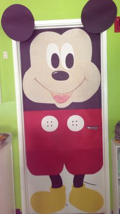 Mickey Mouse Door Preschool