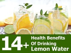 14 Mind Blowing Reasons Why You Should Drink Lemon Water Every Morning