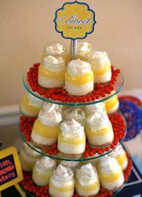 Rachel, Domesticated.: Lemon cheesecake shooters in baby food jars
