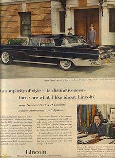 1959 Lincoln Premier ad