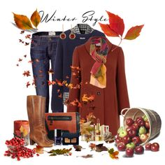 """""""winter style"""" by ntina36 on Polyvore"""