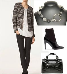 Collar de Joyeria-Harmony, complemento perfecto para un look Casual Friday