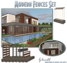 Modern Fences Set - Downloads - BPS Community