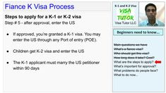Step by step what a beginner needs to know about the fiance visa process and how to get approved for 2020 Fiance Visa, K 1, Marry You, Need To Know, It Works, How To Apply, Nailed It