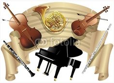 #Vintage #Music #Sheet & #Musical #Instruments © #bluedarkat #23668363     http://it.fotolia.com/id/23668363/partner/200929677
