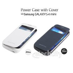 Extened #Battery #Charger Backup Power Bank Flip Cover #Case for #SAMSUNG GALAXY S4 mini i9190 - 2600mAh [BBC-SMYS426] - $33.00
