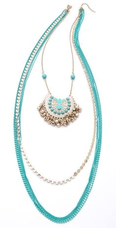 Everything Turquoise: Juliet & Company Voyage Necklace