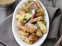 Fingerling Potato Salad with Honey Dijon Vinaigrette