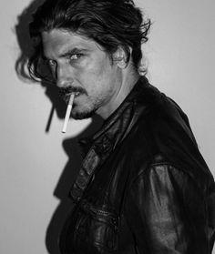 #edwardsaxby #model #beard #hair #editorial