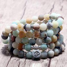 8 Mm Blanc Jade BRACELET Perles Manchette yoga énergie bouddhisme prier Reiki Gemstone Bracelet