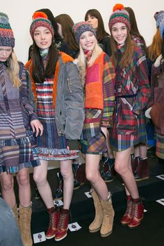 Tommy Hilfiger Fall 2014 - Backstage