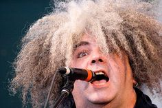 Buzz Osbourne of The Melvins, an American band formed in 1983. Their sludgy sound was a strong influence on music, especially Nirvana, Soundgarden, Green River, and many other bands from Seattle. Melvins have also influenced many bands outside the Seattle grunge scene, including Tool, Mastodon, Neurosis and Isis. (Wikipedia). Image by Heather Leah Kennedy, via Flickr