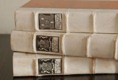 vintage decorative books