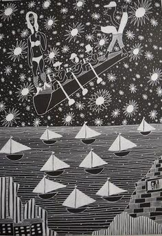 Gérard Sendrey Outsider Art, The Outsiders, Bordeaux, Illustration, Symbols, D Day, Bordeaux Wine, Illustrations