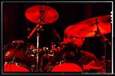 Red-light drummer.#teenrockband #rockandroll #lowlightphotography #concertphotography #notiphone