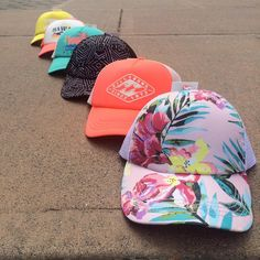We just got a shipment of cute new billabong hats for girls. Come grab one! (Only sold in our store) $17.95