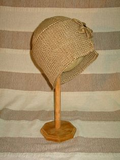 CROCHETED HAT Womens crochet hat fair trade hat retro by bhcrafts
