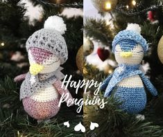 Публикация в Instagram от HMReny-HandMade • Дек 8, 2018 в 7:27 UTC Happy Penguin, Dec 8, Crochet Hats, Instagram Posts, How To Make, Handmade, Knitting Hats, Hand Made, Craft