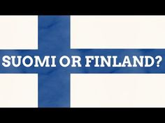 Why Is Suomi Called Finland In English? Last Week Tonight, Alternate History, Geography, Finland, English, Letters, Videos, Youtube, Photos