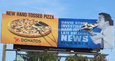 Dual billboard, Donatos pizza