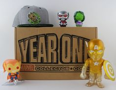 Marvel Collector Corps Year One Box Review - Check out my review of the Marvel…