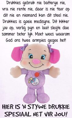 Lekker Dag, Goeie More, Afrikaans Quotes, Good Morning Quotes, Winnie The Pooh, Hug, Messages, Fictional Characters, Disney Characters