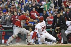 Nationals blow lead in eighth, lose it in 10th on walk-off double by Odubel Herrera, 3-2