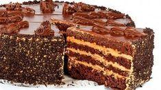 Очень Нежный и вкусный шоколадный торт. Перед ним не устоит ни один сладкоежка. Шоколадный торт «Пеле» несмотря на большое
