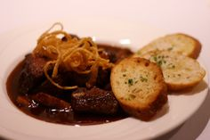 Wild Mushrooms & Steak Appetizer-       Tenderloin tips, crimini, oyster &  shiitake mushrooms, shallot Madeira  demi-glace & herb crostini.