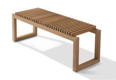 Cutter Bench - Teak | Design Denmark