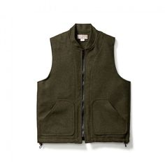 Wool Vest Liner - Forest Green - S