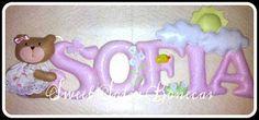 SWEET SOFIA: Banner em feltro