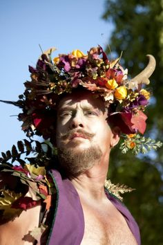 Forest Man is from Renaissance Pleasure Faire, Irwindale, California. Renaissance fairs are staged around the world at different times of the year. Fair vendors, participants and crew often work the fair circuit, going from event to event as one fair ends and another begins.