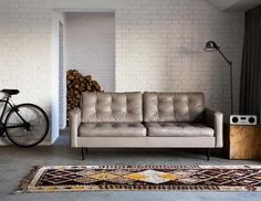 mmmm this couch (in a different room...but still this couch)