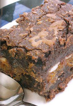 Budín-brownie