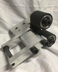 Belt Grinder 2x72 DEFLECTOR BRACKET /& axles for small wheel holder