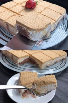 Pişmeyen Kaseto Tatlısı – Tatlı tarifleri – The Most Practical and Easy Recipes Dessert Cake Recipes, Best Dessert Recipes, Easy Desserts, Blueberry Desserts, Different Cakes, Recipe Mix, Cupcakes, Fish Dishes, Bakery