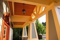 I'm a big fan of tapered Craftsman columns - traditional exterior by Beaconstreet Builders, Inc.