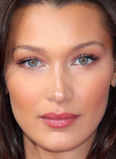 Close-up of Bella Hadid at the 2018 Fashion for Relief show in Cannes. Close-up of Bella Hadid at the 2018 Fashion for Relief show in Cannes. Bella Hadid Nose, Bella Hadid Makeup, Bella Hadid Hair, Nose Makeup, Eyeshadow Makeup, Hair Makeup, Makeup Brushes, Makeup Remover, Buy Makeup