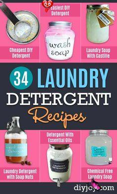DIY Laundry Detergent Recipes - Cleaning Tips DIY Laundry Detergent Recipes - Cleaning Tips Trash To Couture, Laundry Detergent Recipe, Homemade Laundry Detergent, Safe Cleaning Products, Cleaning Hacks, Cleaning Supplies, Cleaning Painted Walls, Clean Dishwasher, Sprinkler