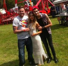 Awwhhh! Zerrie and Perrie's brother, Jonnie!