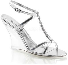 online shopping for Fabulicious Women's Lovely 428 Slingback Casual Sandals from top store. See new offer for Fabulicious Women's Lovely 428 Slingback Casual Sandals Silver Wedge Sandals, Silver Wedges, Open Toe Sandals, Shoes Sandals, Women Sandals, Heeled Sandals, Hot Shoes, Strap Sandals, Wedge Shoes