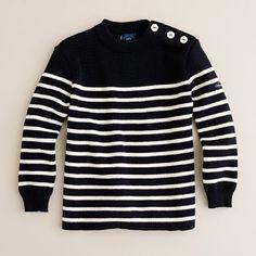 st. james stripe sweater, crewcuts