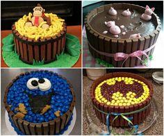 Kit Kat Cake Ideas several other ideas too