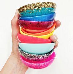 resin pinch bowls