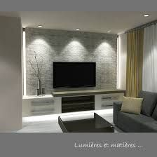 Risultati immagini per décoration sous-sol salon Basement Living Rooms, Living Room Tv, Home And Living, Small Living, Tv Wall Design, House Design, Home Theather, Modern Tv Wall, Tv Wall Decor
