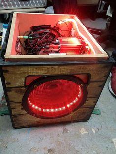 Portable Soundanlage, um draußen eine Party mit über 40 Leute zu beschallen. Ist ein