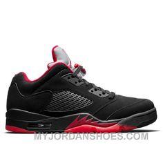 e9a2eb60d3e Air Jordan 5 Retro 819171-001 Low 'Alternate 90' Black/Gym Red-Metallic  Hematite ShsJy