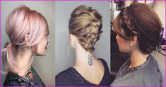 60 Creative Short Hair Updos, Have you ever struggled to learn some updos for short hair? With so many gorgeous updo ideas available online, the strong majority are for long hair. Wedding Hairstyles Thin Hair, Thin Hair Updo, Short Hair With Layers, Short Hair Cuts, Short Hair Styles, Best Pixie Cuts, Modern Haircuts, Long Lashes, Different Hairstyles