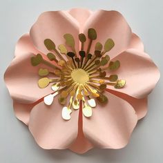 decorao com papel SVG 2 Flower Fillers-file for Cutting Machines Such as Cricut and Silhouette Cameo-Ideal for filling gaps of you paper flower Wall Paper Flower Wall, Giant Paper Flowers, Diy Flowers, Flower Petals, Flower Petal Template, Paper Flower Tutorial, Plotter Silhouette Cameo, Paper Flower Arrangements, Diy Paper
